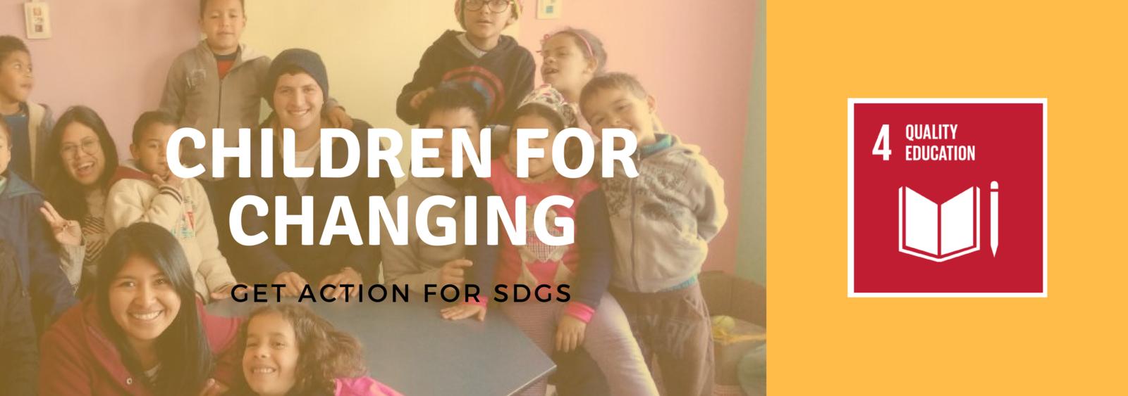 Work SDGs with Kids in Social Vunerabilty [Gira Mundo]