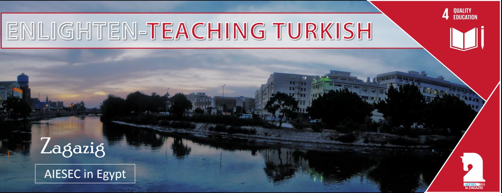 Enlighten - Teaching Turkish Opportunity in EGYPT #4