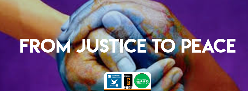 Justice - Peace and Strong Institutions
