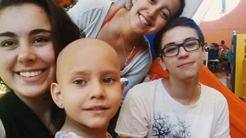 Provide well-being to children with cancer [ELO]