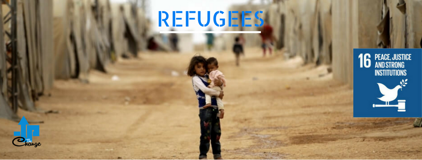 Refugees Kids teacher l Reducing Inequalities