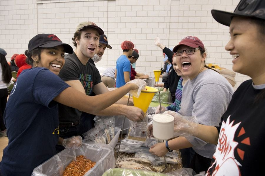 Food and Clothes Packing for the Poor - Zero Hunger