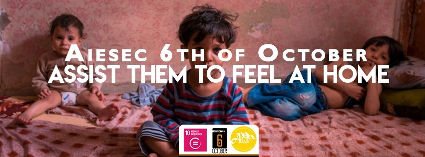Assist Supporting Refugees - Reduce Inequalities In Egypt#10