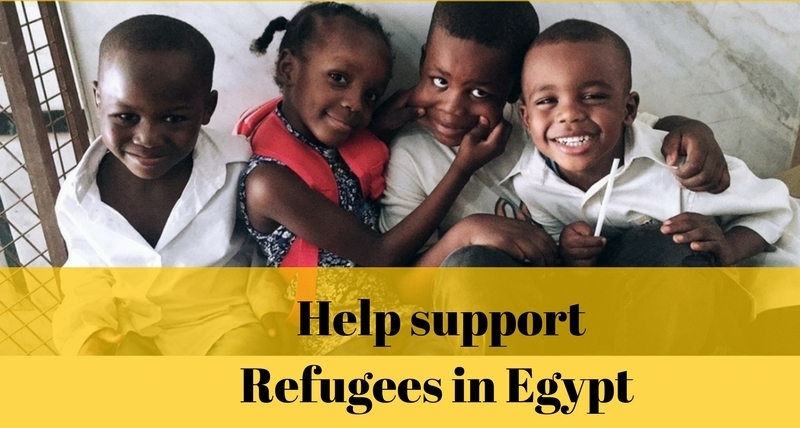 Blogging and Photography for Refugees In Egypt