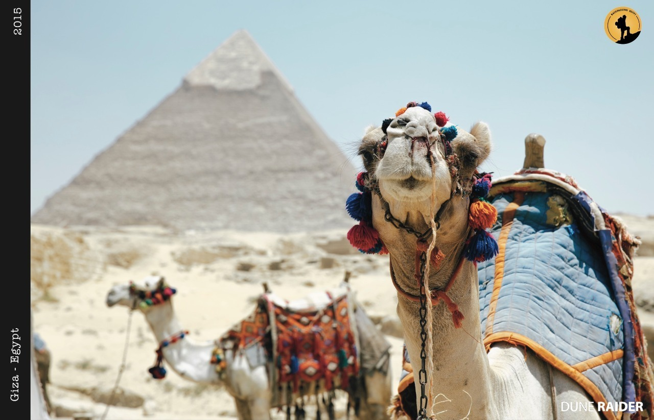 Blogger-promoting tourism- Backpacking Egypt