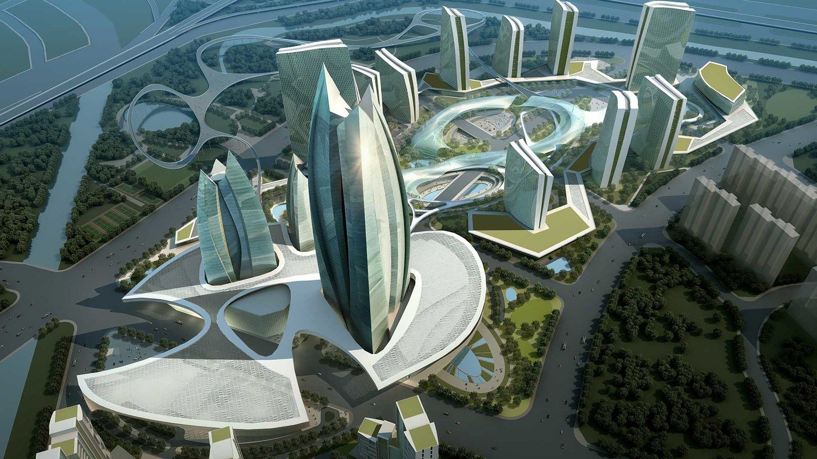 Urban Planning & Architecture in Cairo in Egypt | Green