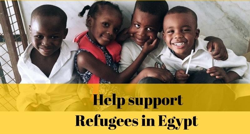 Psychological support for Refugees in Egypt - SDG #10