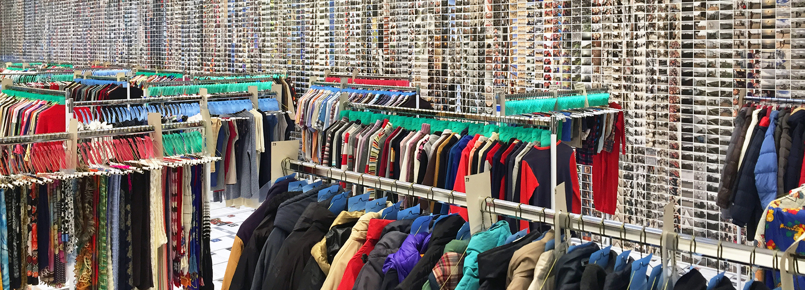 Storing Clothes for Refugees in Egypt