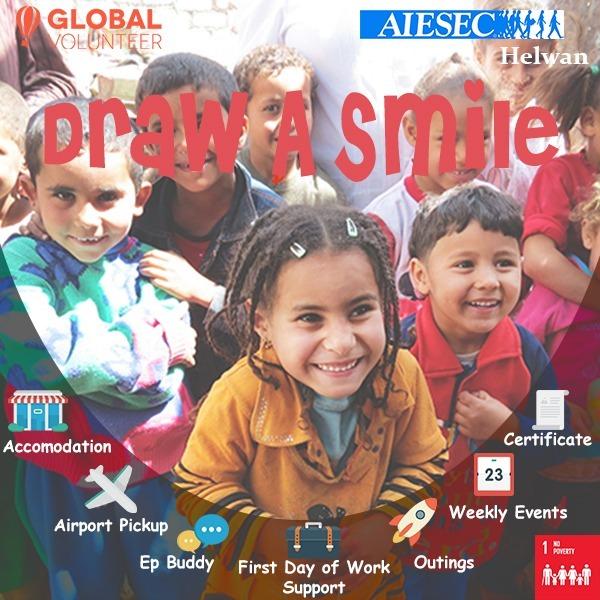 Draw A Smile-Cairo-Egypt