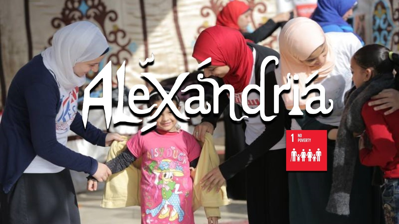 Charity Runway - Direct Aid and Clothes Distribution - Egypt