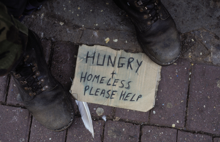 Psychological Support to Homeless People-No Poverty
