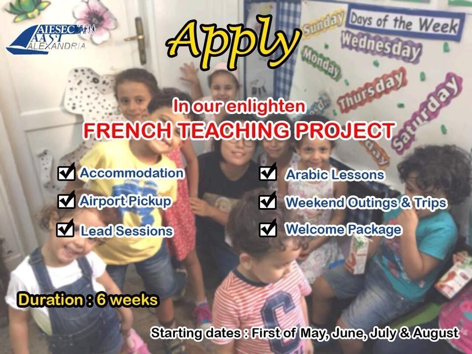 ENLIGHTEN- French Teaching
