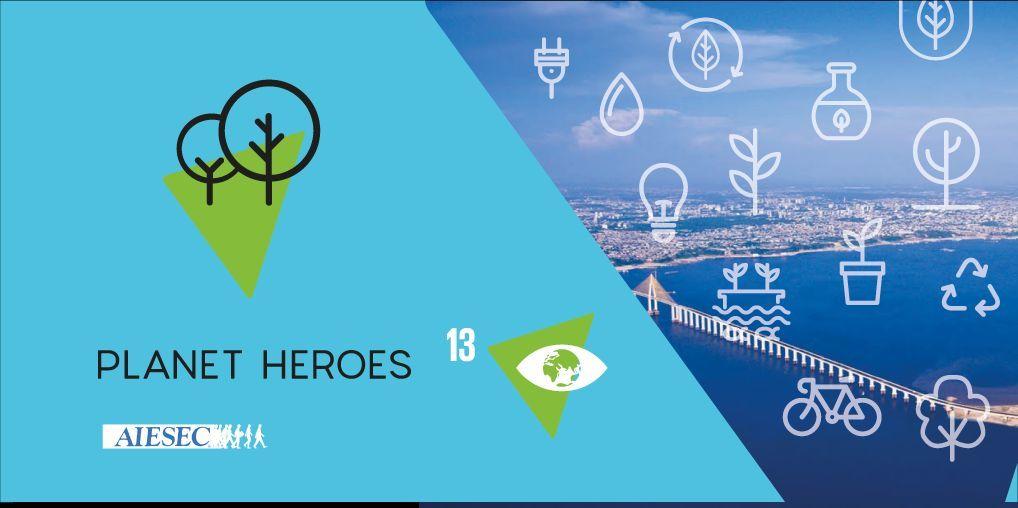 BE A PLANET HERO ON AMAZON|Environmental Education|Sep 1th