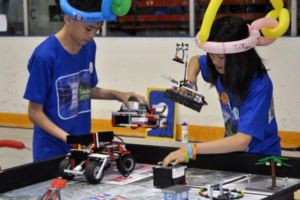 Robot Competition ( battle )