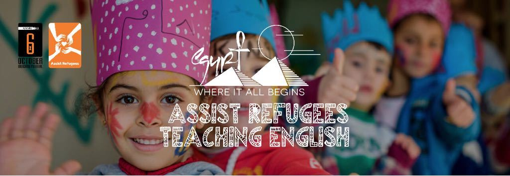 Assist Refugees - Teaching English