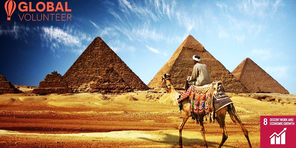 Explore Egypt - Promoting Tourism in Egypt SDG#8