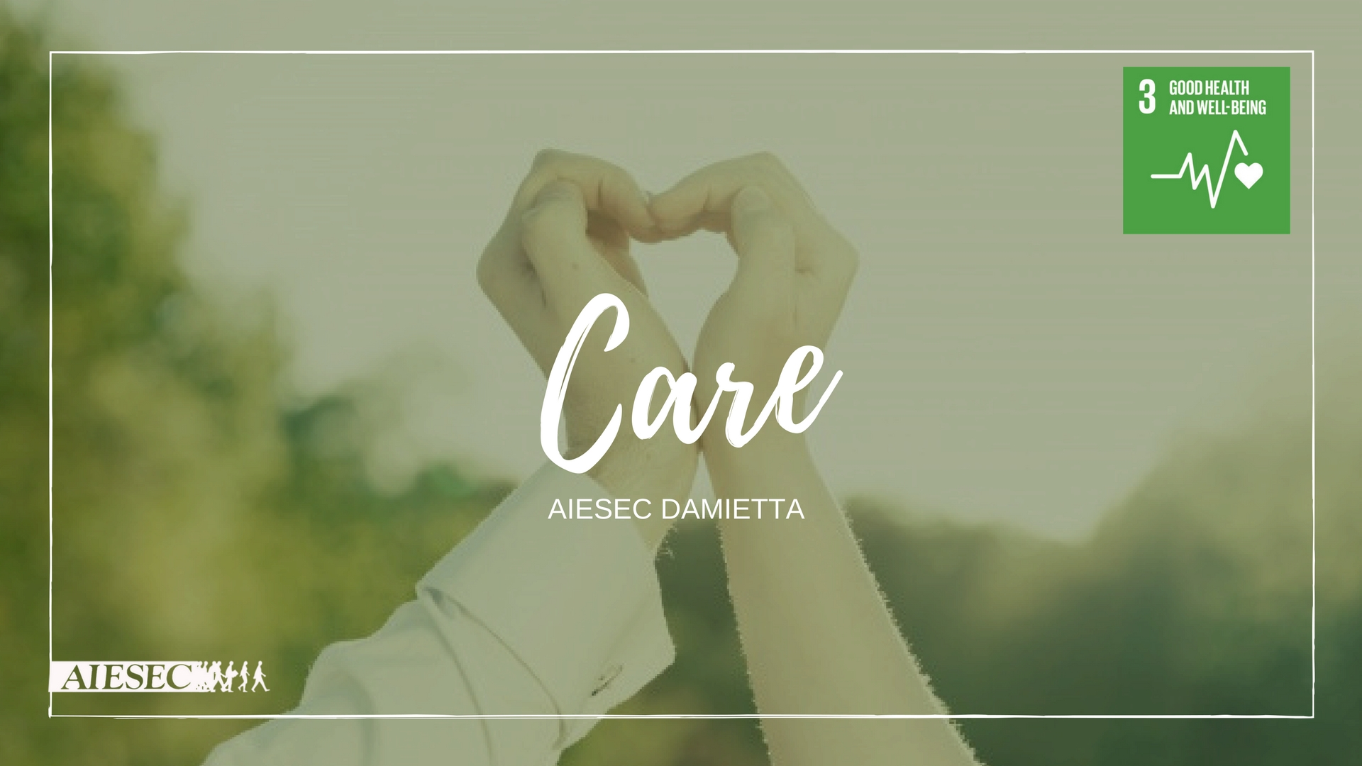 Care For Good Health And Well Being