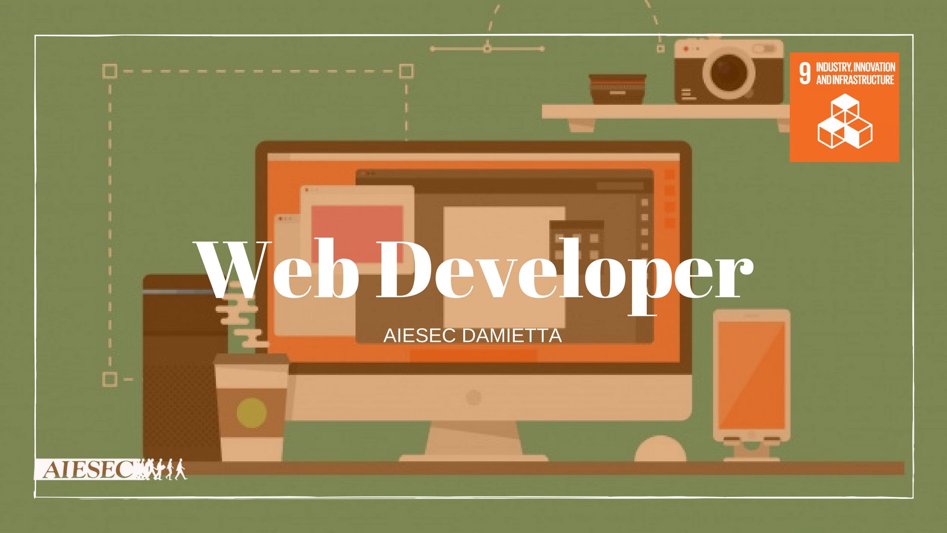 Web Developer  for industry innovation and infrastructure