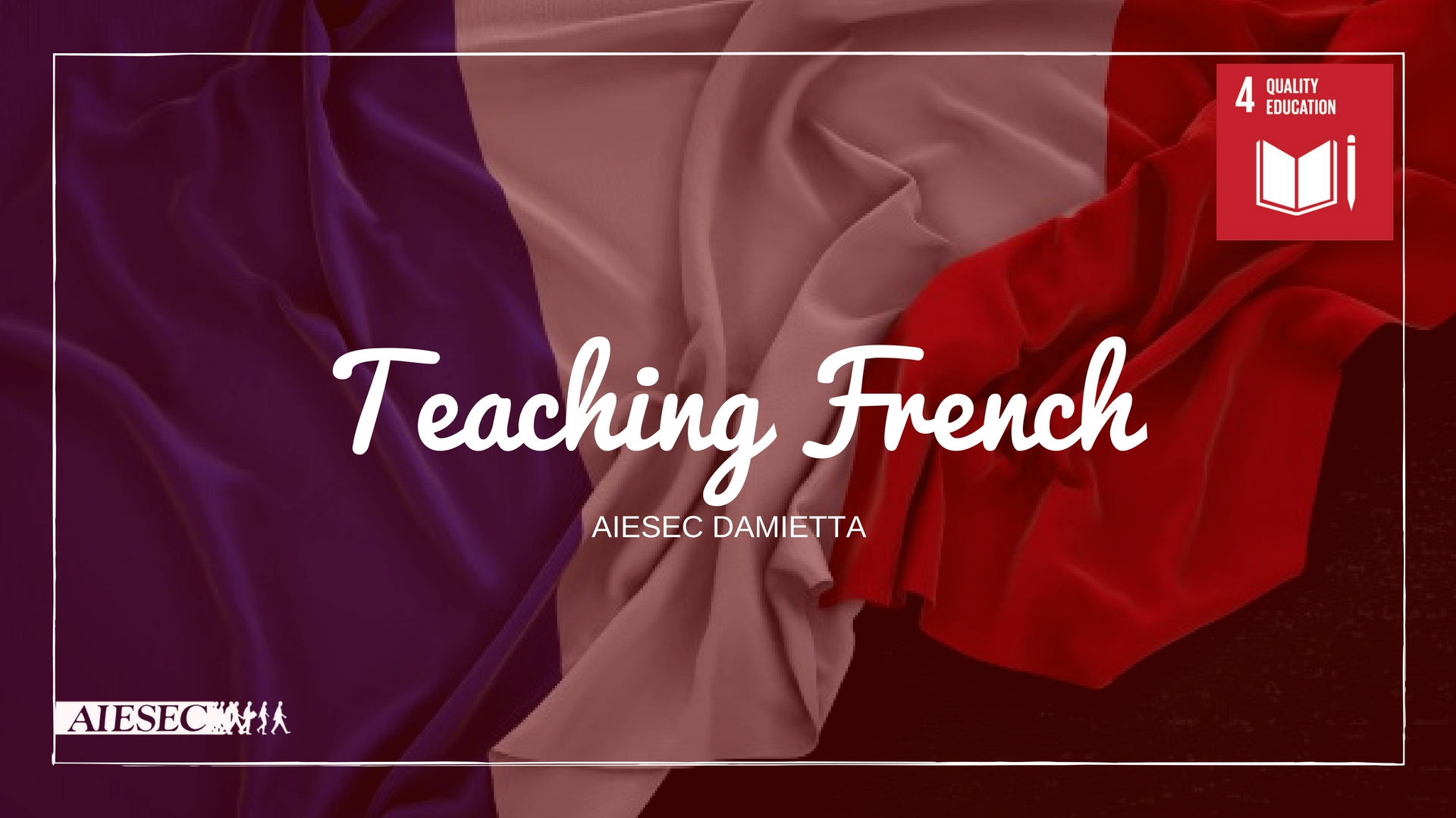 Teaching french for Quality Education