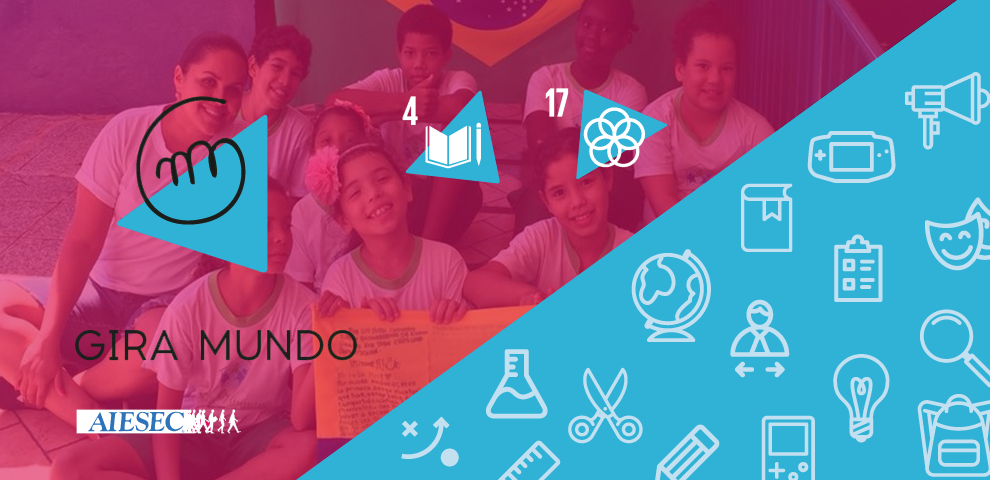GIRA MUNDO - Work with kids raising awareness about the SDGs