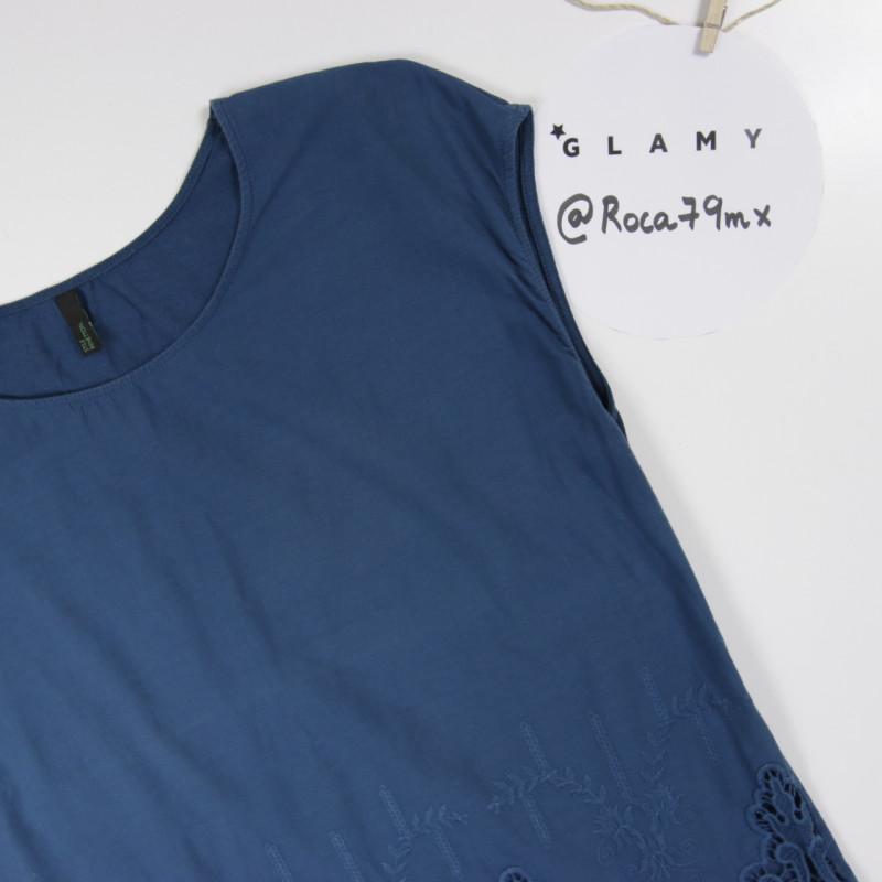 Camiseta azul 'Benetton'