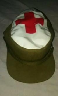 Gorra de cabo Cruz Roja 1983-1986