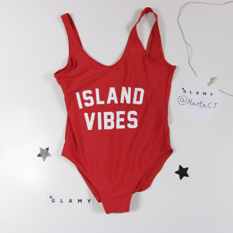 Bañador Del VibesDetalle Island Producto Rojo Glamy pqSUzMVG