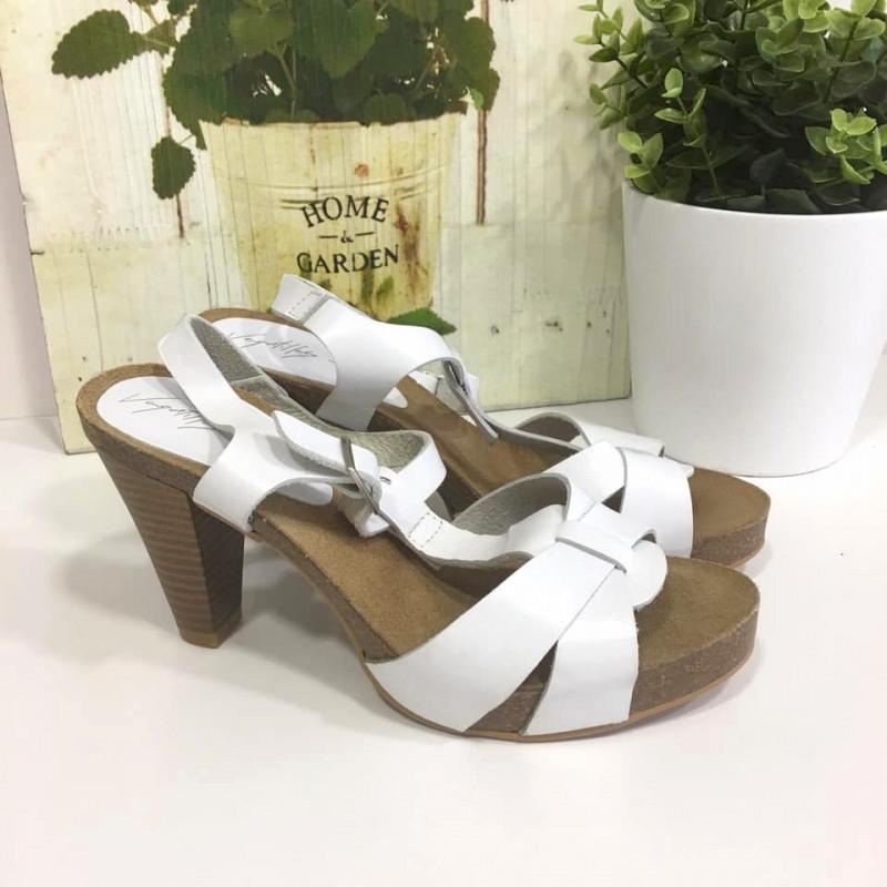 BlancasDetalle Sandalias Glamy Vaquetillas Piel Del Producto De hrtdCQs