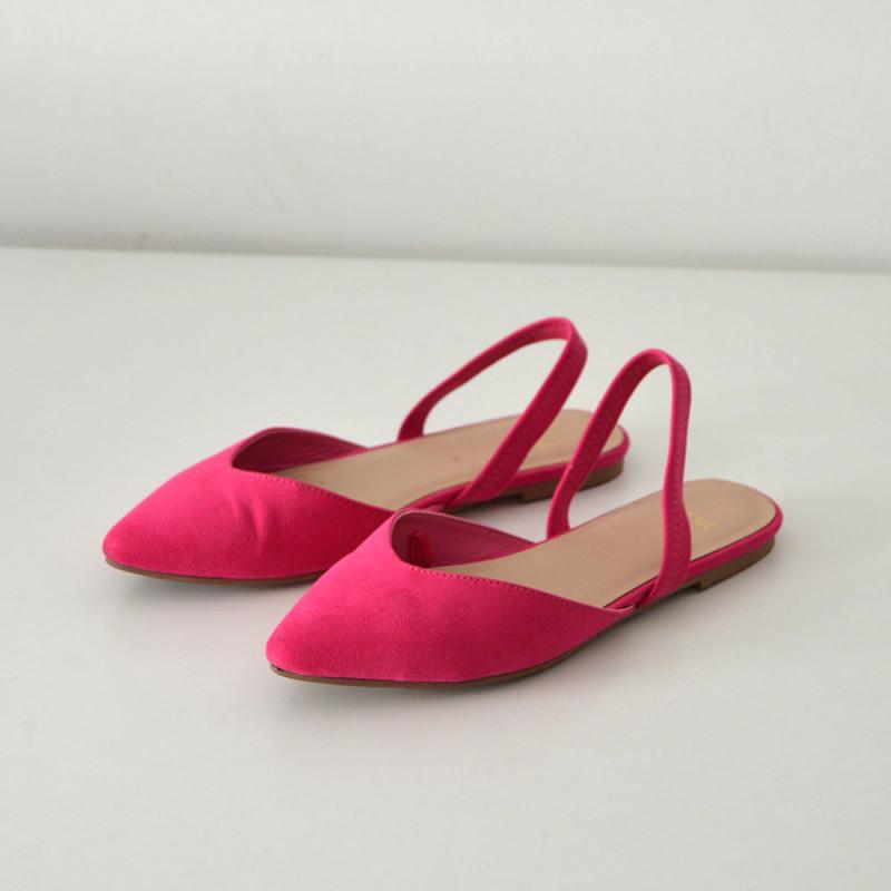 Bailarinas rosa fuchsia