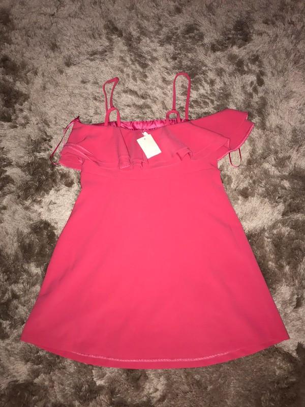 Precioso vestido rosa corte ingles