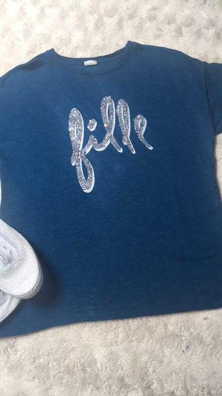Camiseta logo plata