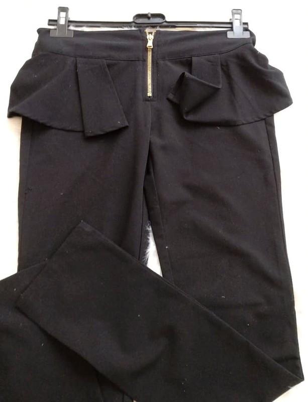 pantalones negros de vestir SISLEY