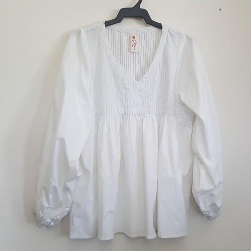 Camisa blanca Yocana. T-M