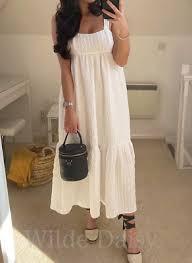 Vestido blanco bloggers Zara talla s