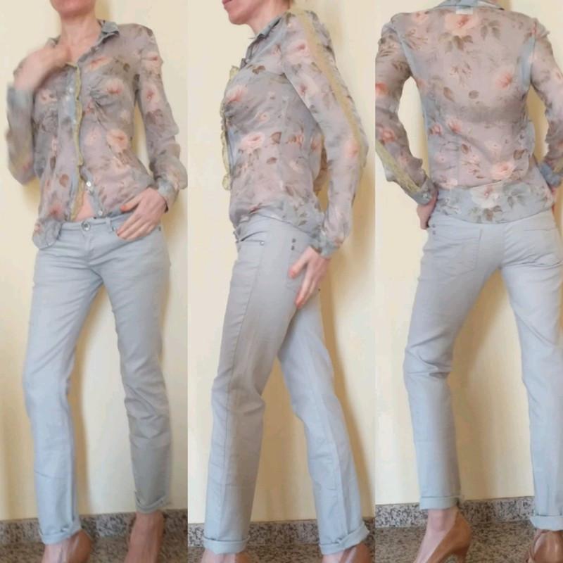 Pantalón beige stradivarius