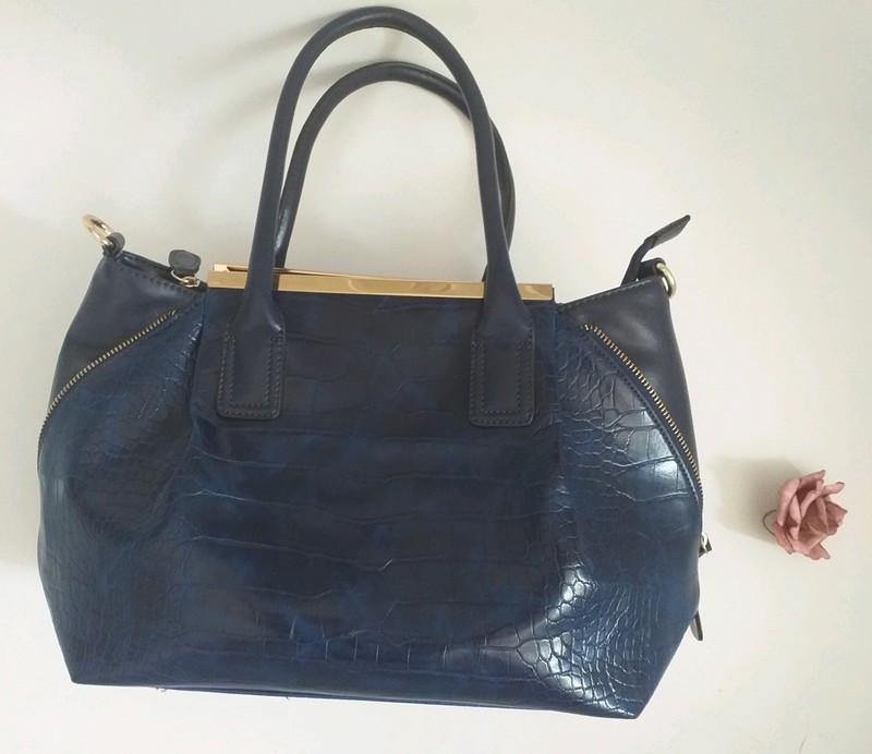 Bolso azul print coco