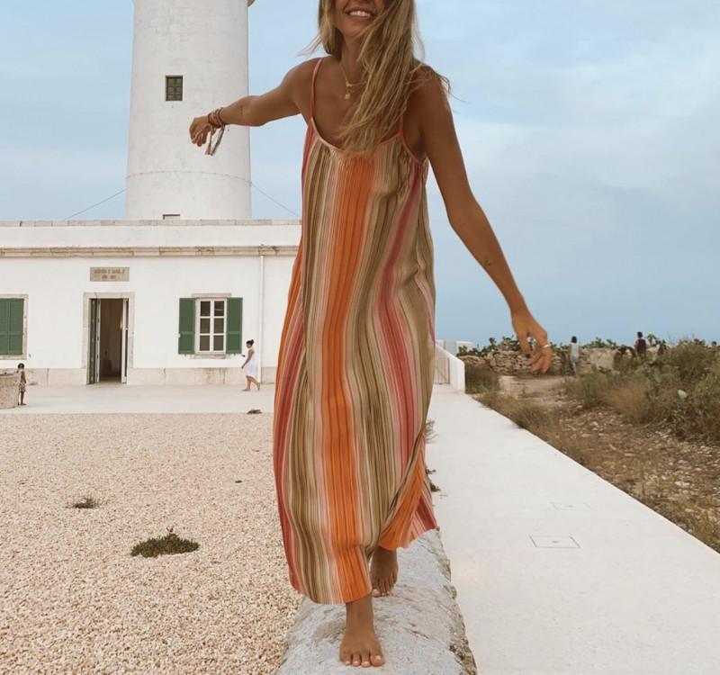 Vestido multicolor Zara