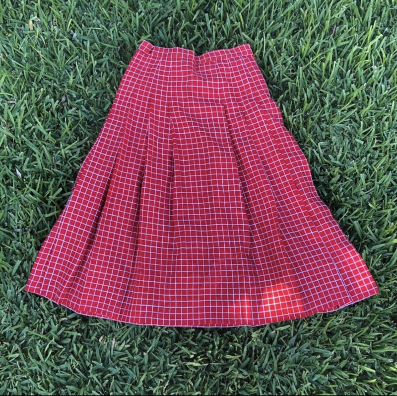 Falda hecha a medida