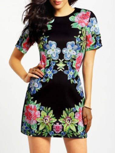 Precioso vestido con flores