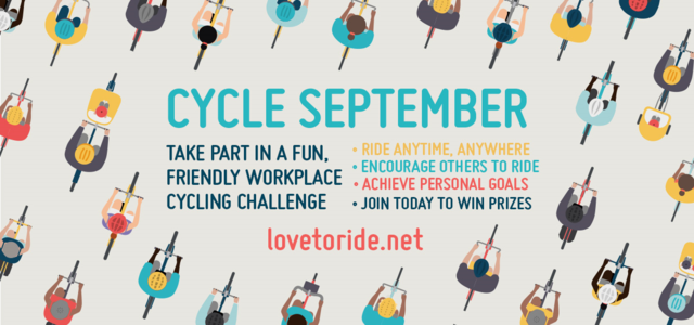 Remember, Remember, it's Cycle September!