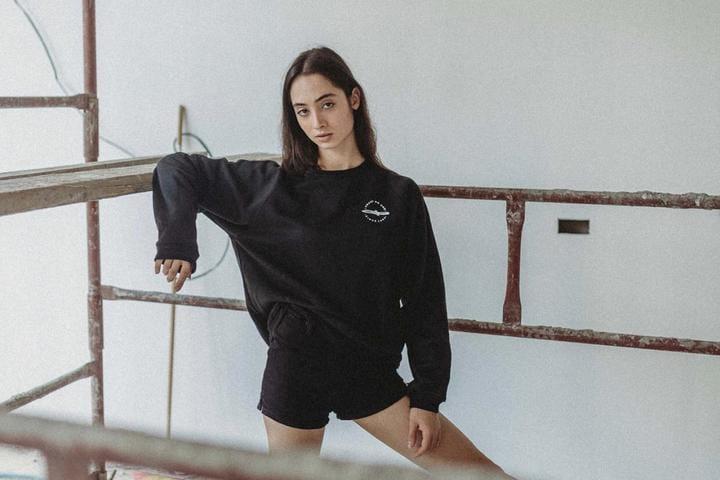 Trust No One Black Sweater