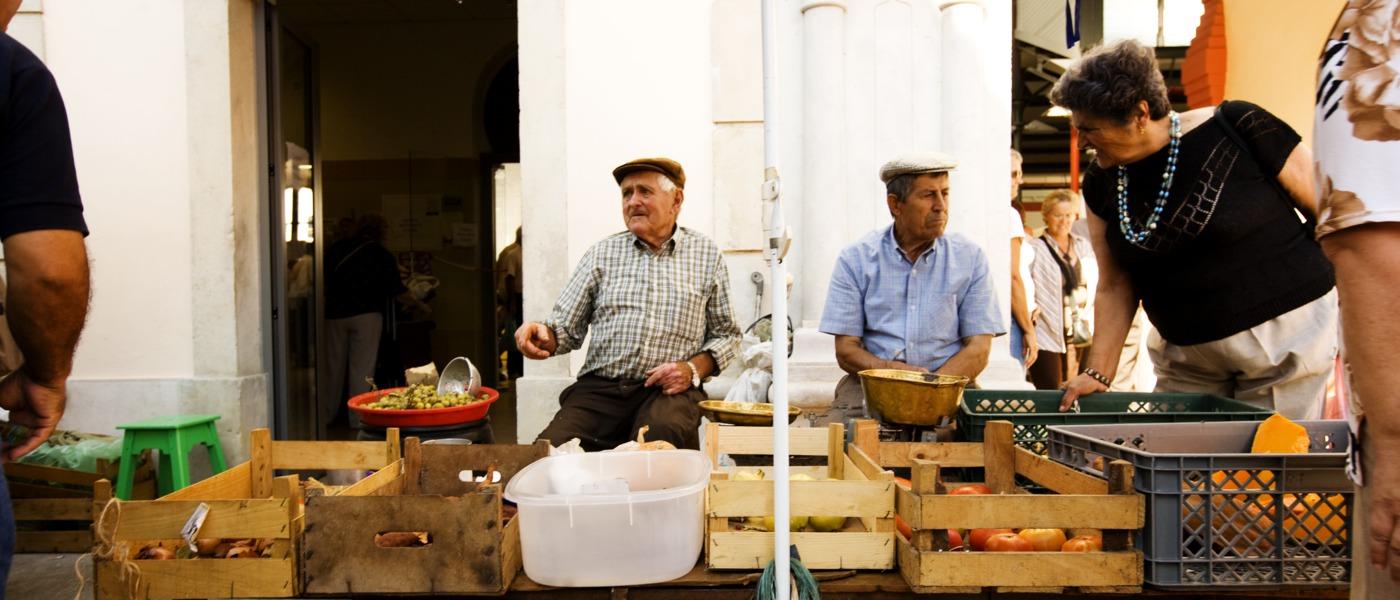 Market Day in the Algarve, Portugal