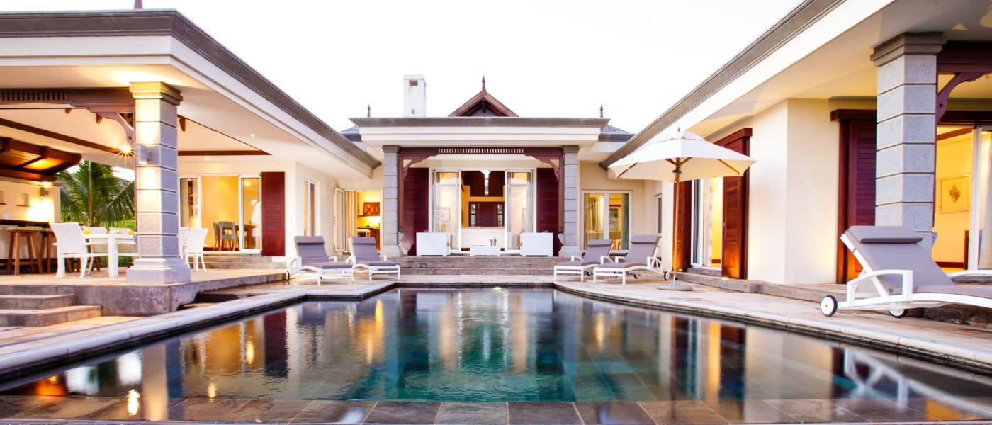 Luxury villas and homes in bel ombre mauritius
