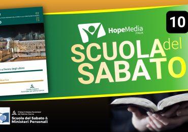 Scuola del Sabato - 3° Trimestre 2019 - Lezione 10