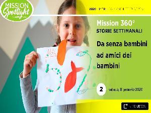Da senza bambini ad amici dei bambini – Video missioni