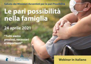 Sabato dei Ministeri Avventisti per le pari Possibilità e webinar