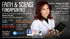 Gri Europa. Serie di Webinar su fede e scienza