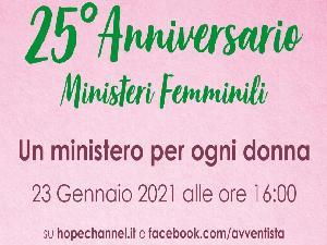 Servire, nutrire, formare. Festa per i 25 anni dei Ministeri Femminili