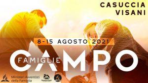 Campo famiglie 2021 a Poppi