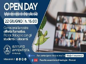 Villa Aurora. Open Day sul web